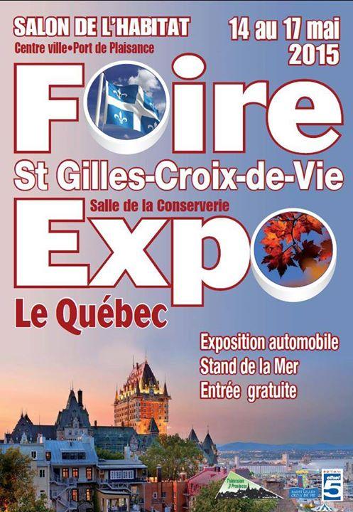 Retrouvez nous à la Foire de St Gilles Croix de Vie pendant le week-end de l'asc…