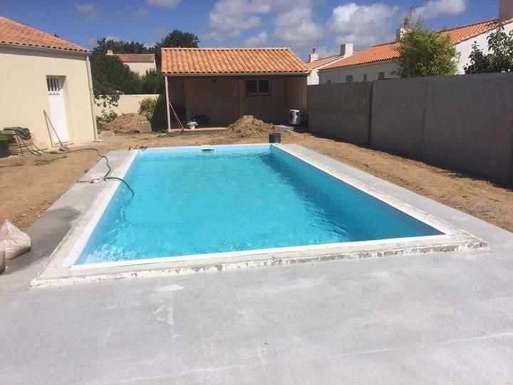 Encore une Piscine  prête pour la baignade ce weekend !️ Piscine 3,50 x 8,00 100…